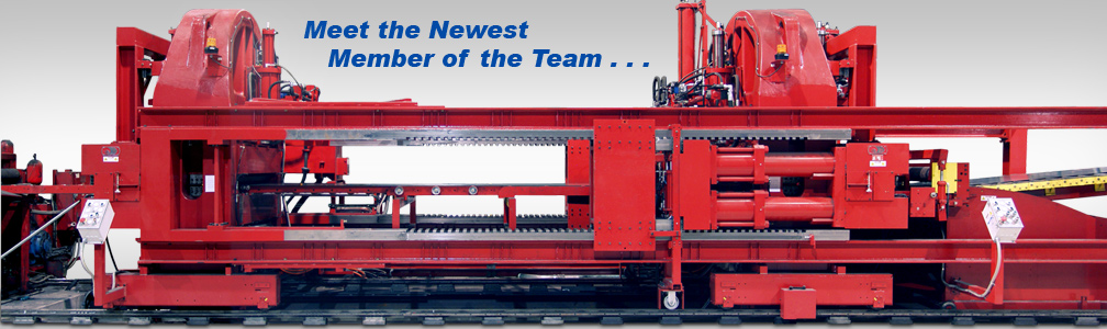 adding a new stretcher leveler to toll processing lineup